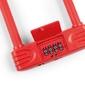 Zamknięcie kross kzu-250 146x227,5 mm na szyfr czerwone