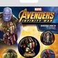 Avengers: infinity war - przypinki