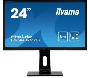 Iiyama monitor 24 cale  b2482hs-b5 1ms,pivot,vga,hdmi,dvi