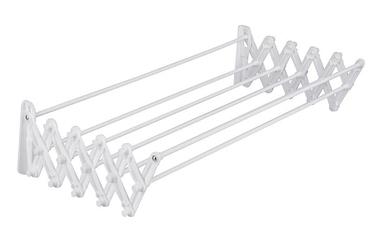 Suszarka na pranie składana harmonijka biała 50 cm