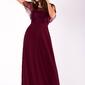 Evalola sukienka oberżyna 51007-1