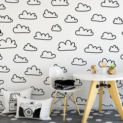Cloudy design - tapeta ścienna , rodzaj - tapeta flizelinowa