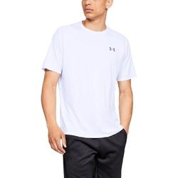 Koszulka męska under armour tech ss tee 2.0 - biały