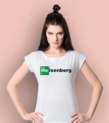 Heisenberg t-shirt damski biały xxl