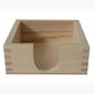 Drewniany pojemnik na podkładki