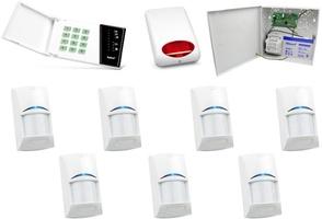 Zestaw alarmowy satel ca-10 led, 7 czujek, sygnalizator zewnętrzny - możliwość montażu - zadzwoń: 34 333 57 04 - 37 sklepów w całej polsce