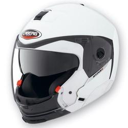 Caberg kask convert z blendą model hyper x kolor biały metalik