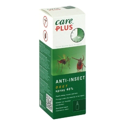 Care plus deet anti insect spray 40 odstarszający owady