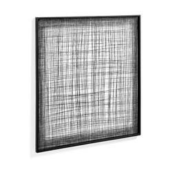 Metalowy obraz katrina czarny