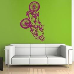szablon malarski rower bk3