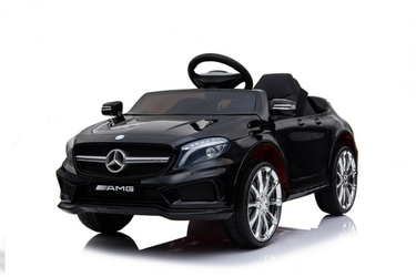 Mercedes gla45 czarny samochód na akumulator + pilot