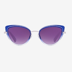 Okulary hawkers fusion blue feline - feline