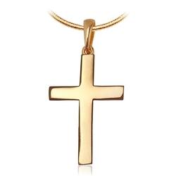 Staviori krzyżyk. żółte złoto 0,333. długość 24 mm.