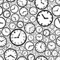 Fototapeta zegarek tarcza eps10 wzór