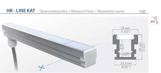 Profil led - hr-line kat - 110-200cm