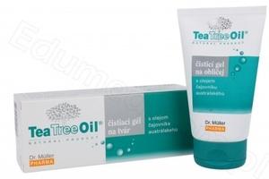 Tea tree oil - żel oczyszczający do twarzy z olejkiem z drzewa herbacianego 150ml żel 30ml