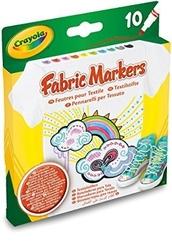 Markery do ubrań - tkanin 10 kolorów