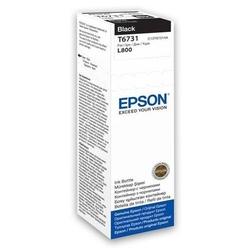 Epson tusz t6731 70ml butelka do l800 czarny