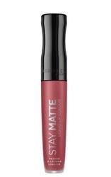 Rimmel stay matte liquid lip colour matowa pomadka w płynie 220 fatal kiss 5,5ml