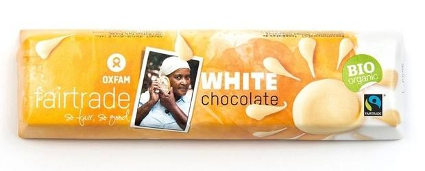 Oxfam | biała czekolada 50g | organic - fairtrade