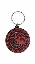 Gra o tron Trójgłowy Smok Ród Targaryen - brelok