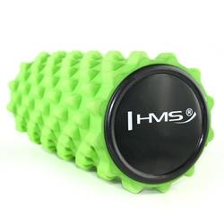 Wałek fitness 33cm fs101 zielony - hms - zielona