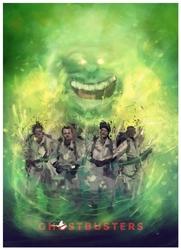Pogromcy duchów - plakat premium wymiar do wyboru: 29,7x42 cm