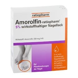 Amorolfin-ratiopharm lakier przeciwgrzybiczny 5