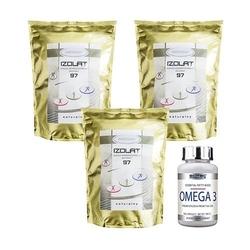 Extensor izolat 97 instant 3x 1000g + omega 3