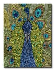 The peacock - obraz na płótnie