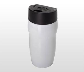 Kubek termiczny 270 ml smile biały