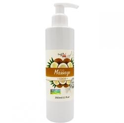 Żel do masażu i lubrykant w jednym kokosowy 250ml