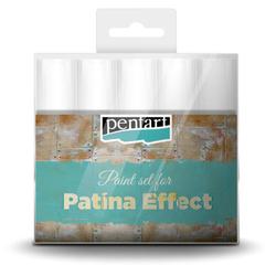 Zestaw farb do efektu patyny Pentart 5x20 ml