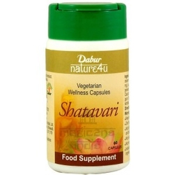 Shatavari dabur 60 kapsułek suplement diety