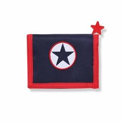 Portfel dla chłopca, Gwiazdy, granatowy, Penny Scallan
