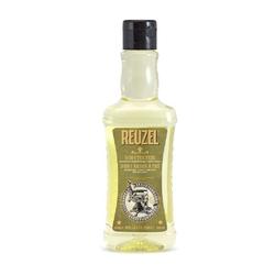 Reuzel 3w1 tea tree - męski szampon, żel pod prysznic i odżywka w jednym 350 ml