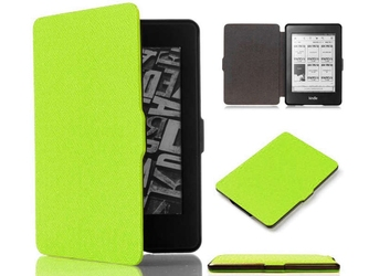 Etui alogy smart case do kindle paperwhite 123 zielone + szkło alogy - zielony