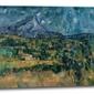Mont sainte-victoire, paul cézanne - obraz na płótnie