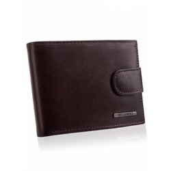 Elegancki portfel męski bpm-vtc-60 brązowy