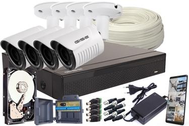 Zestaw ahd, 4x kamera full hdir25, rejestrator 4ch + 1tb - możliwość montażu - zadzwoń: 34 333 57 04 - 37 sklepów w całej polsce
