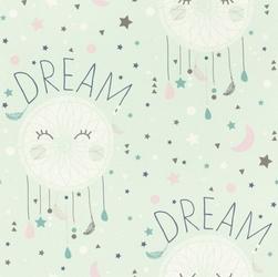 Tapeta łapacz snów dream bambino błękitna 248760