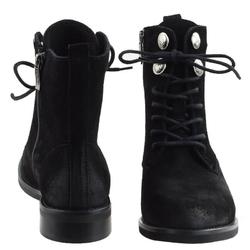 Czarne botki damskie chebello 2379