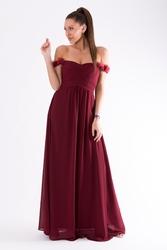 Eva  lola sukienka oberżyna 54002-2