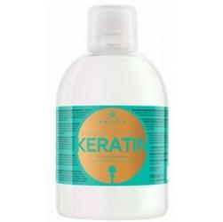 Kallos kjmn keratin szampon do włosów z keratyną i proteinami mlecznymi 1000ml