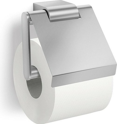 Wieszak na papier toaletowy z klapką atore matowy