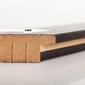 Outlet- rama 50x50 cm biała drewniana