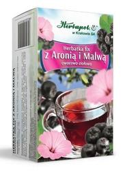 Herbatka fix z aronią i malwą x 20 saszetek