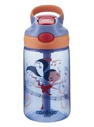 Bidon dla dzieci kubek dla dzieci contigo gizmo flip 420ml - wink dancer - niebieski    wielokolorowy