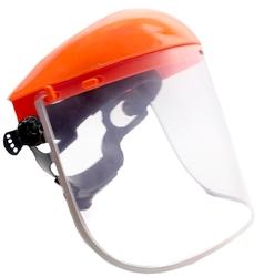 Przyłbica szybka ochronna pcv osłona twarzy przeciwodpryskowa