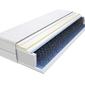 Materac bonellowy wera 140x240 cm średnio twardy visco memory